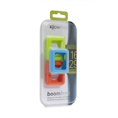 Boompods Boomtime 42mm Triple Pack - Groen / Blauw / Oranje