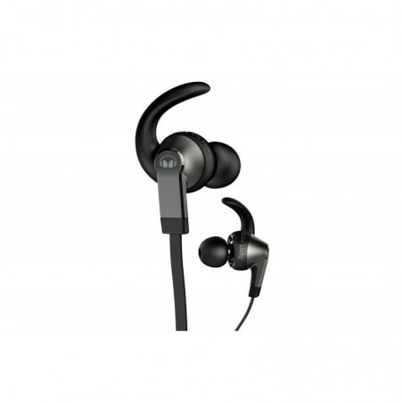 Monster iSport Victory In-Ear Koptelefoon, 3 knoppen ControlTalk Zwart