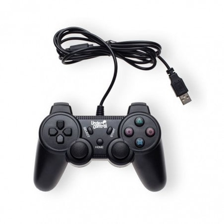 Under Control Bedrade Playstation 3 Controller Zwart