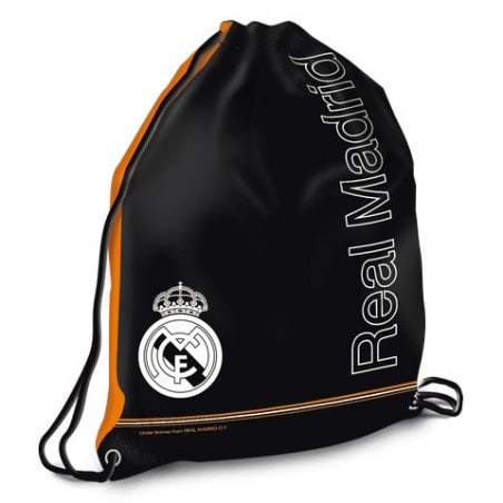 Real Madrid Trekkoord Tas Zwart