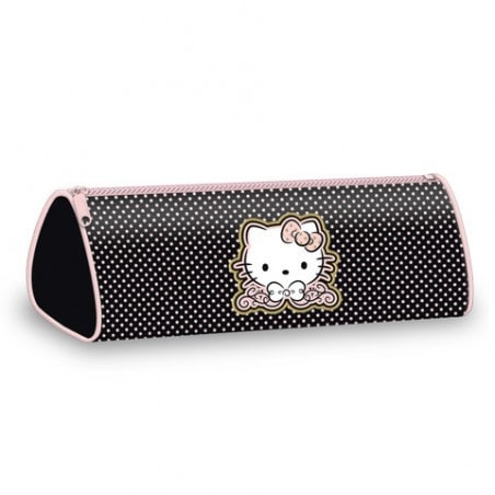 Hello Kitty Etui Zwart / Roze
