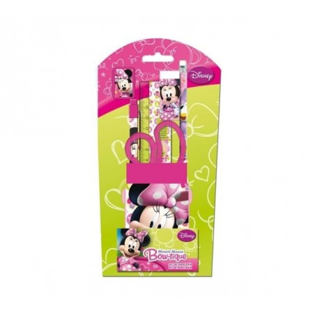 Minnie Mouse schoolartikelen set 5 st.