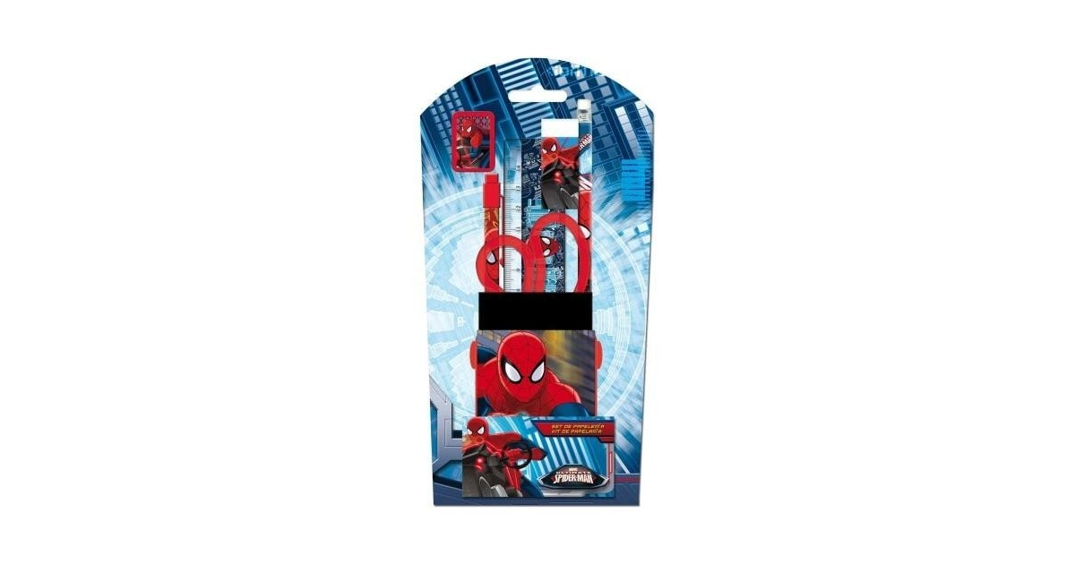 Spiderman schoolartikelen set 5 st.