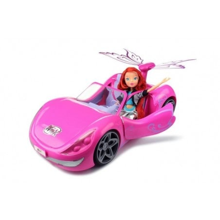 Winx Club Bloom and Magical Car - Speelgoed auto met Pop - Cadeauset