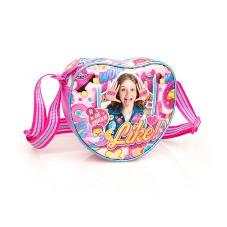 Disney Soy Luna iLuna - Hartvormig Schoudertasje - 18 cm