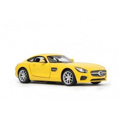Jamara RC Mercedes AMG GT Schaal 1:14 40MHz met openslaande deuren Geel