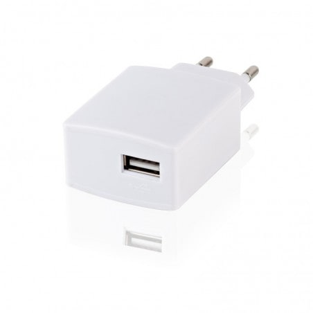 Under Control - Universele USB Stopcontact adapter 2A - Wit