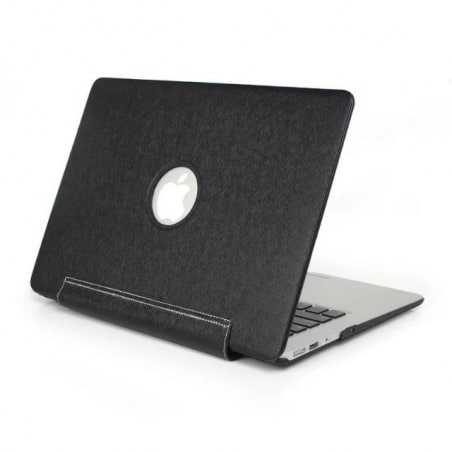 Tuff-Luv Slim Skin Shell Case - Voor de Apple Macbook Pro Retina 15.4 Inch - Zwart