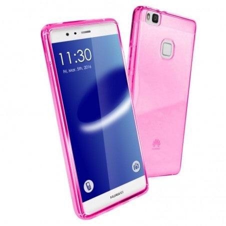 Tuff-Luv - TPU Gel hoes voor Huawei P9 Lite - Roze