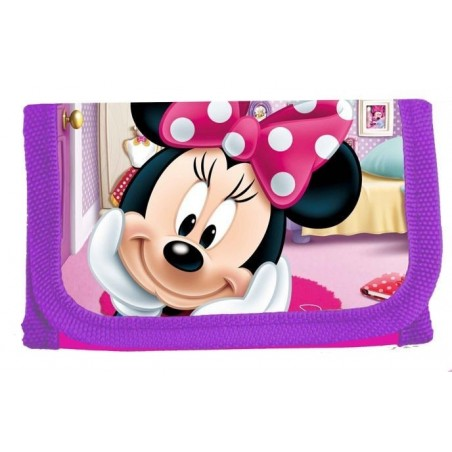 Minnie Mouse - portemonnee - paars/roze