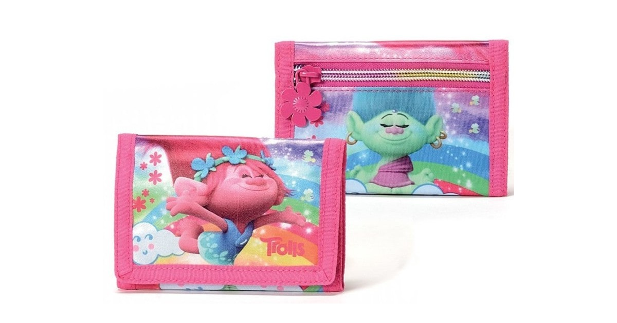 Trolls regenboog - Portemonnee - roze