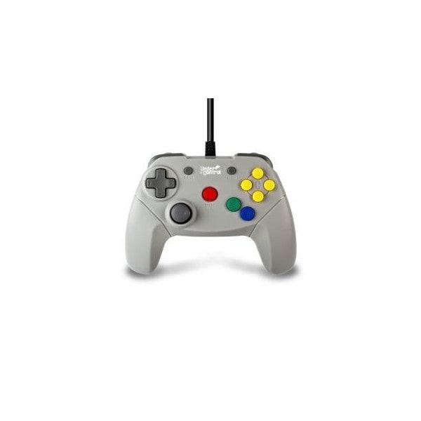 Under Control – bedrade Nintendo 64 controller – grijs