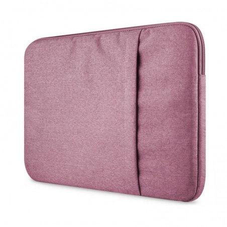 Tuff-luv - Nylon beschermhoes voor een 13 inch laptop-notebook - roze