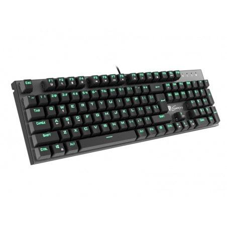 Genesis Thor 300 - Mechanisch Gaming toetsenbord - Met groene verlichting, blue switches