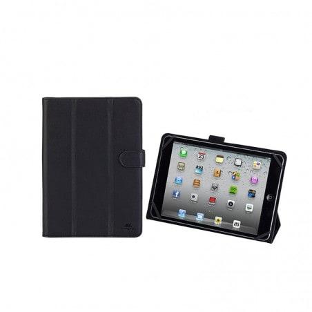 RivaCase Universele Tablet case 8 Inch (iPad mini 4, Asus, Lenovo, Samsung Galaxy Tab, Sony)- Zwart