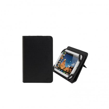 RivaCase Universele Tablet hoes + Standaard 7 Inch Acer,Asus,Huawei,Lenovo,Samsung Galaxy TabZwart