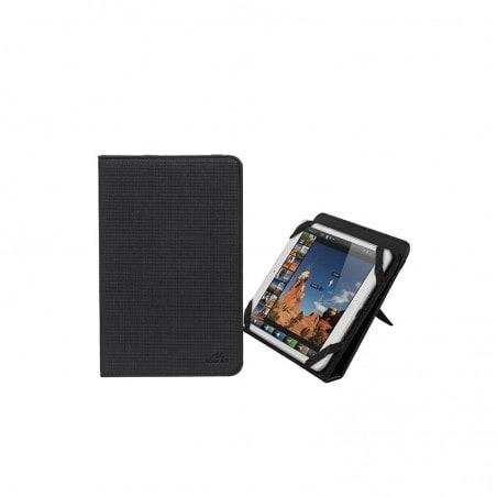 RivaCase Universele Tablet hoes + Standaard 8 Inch iPad mini 4 Asus Lenovo Samsung Galaxy Tab-Zwart
