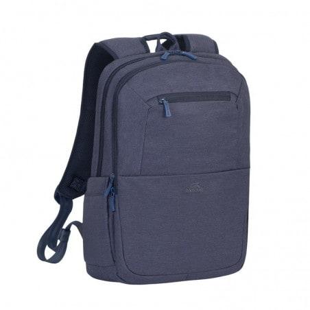 RivaCase Laptop Rugzak - 15.6 Inch - Extra vak voor 10.1 Inch tablet - Blauw