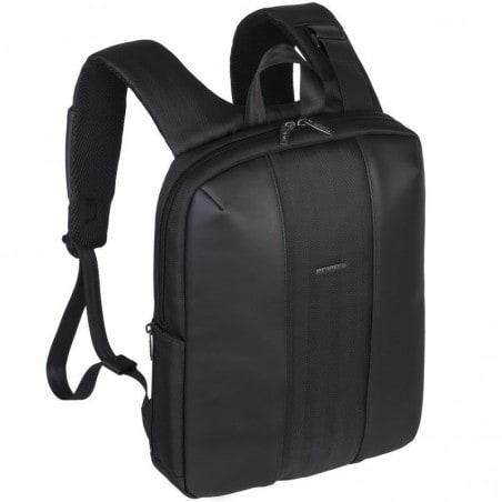 RivaCase Laptop - Business Rugzak - 14 Inch - Extra vak voor 10.1 Inch tablet - Zwart