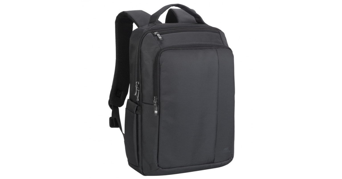 RivaCase - Laptop Rugzak - 15.6 Inch - Extra vak voor 10.1 Inch tablet - Zwart
