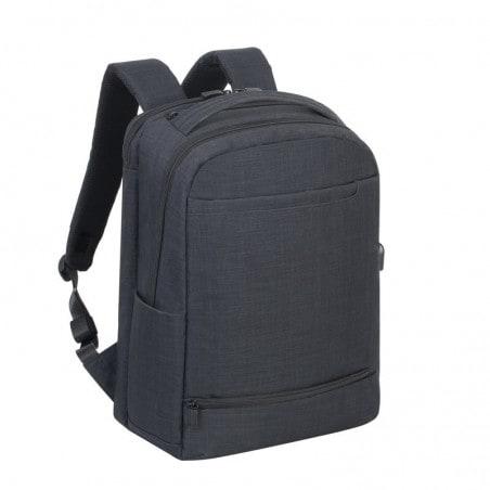 RivaCase - Laptop Rugzak - 17.3 Inch - Extra vak voor 10.1 Inch tablet - Zwart