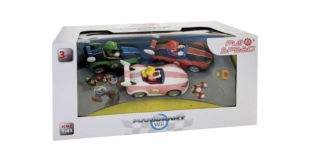 Mario Kart Wii 3 pack wildwing - Mario Luigi en Peach