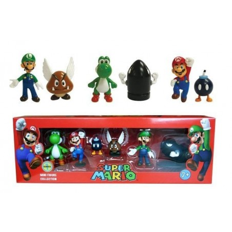 Super Mario Mini Figuren 6cm Serie 1