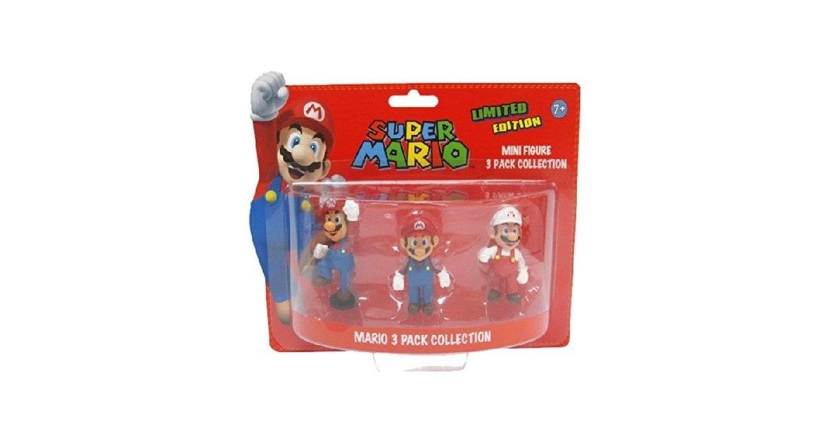 Super Mario Giftpack Mini Figuren 6cm Mario