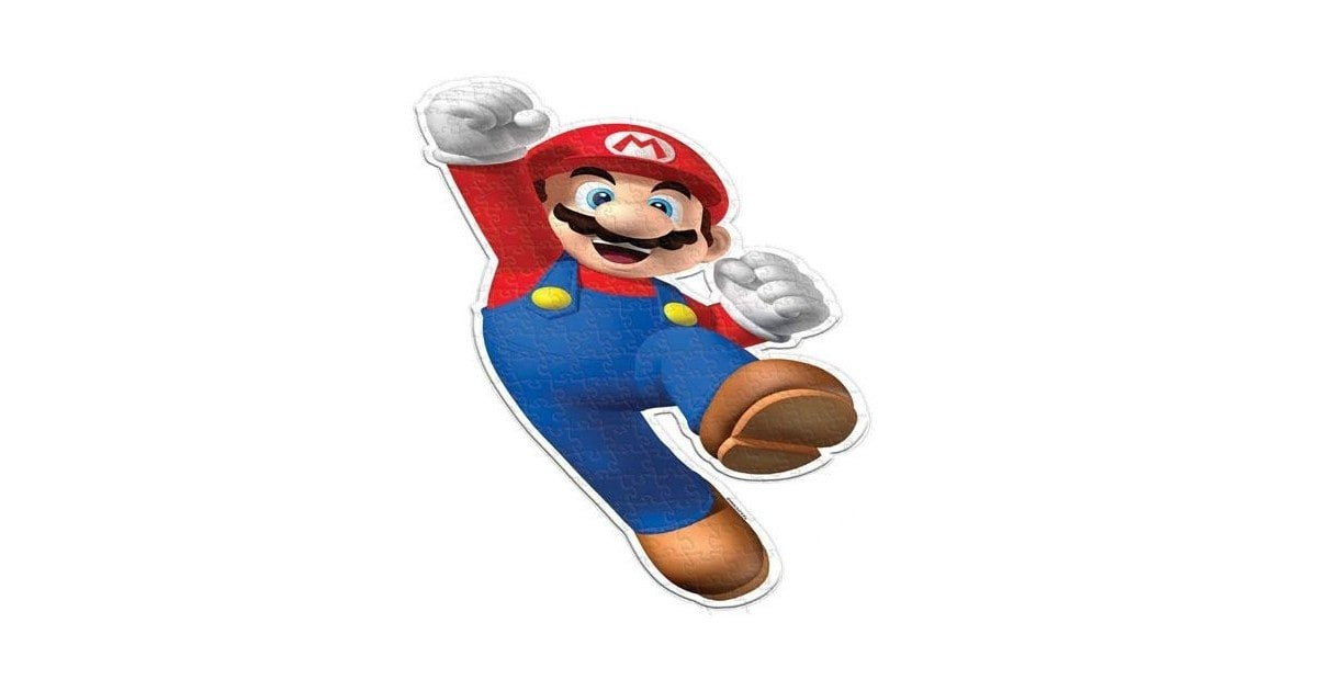 Puzzel in Supermario vorm