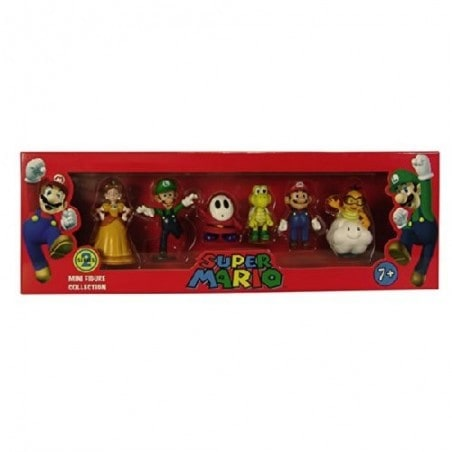 Super Mario Mini Figuren 6cm  Serie 2