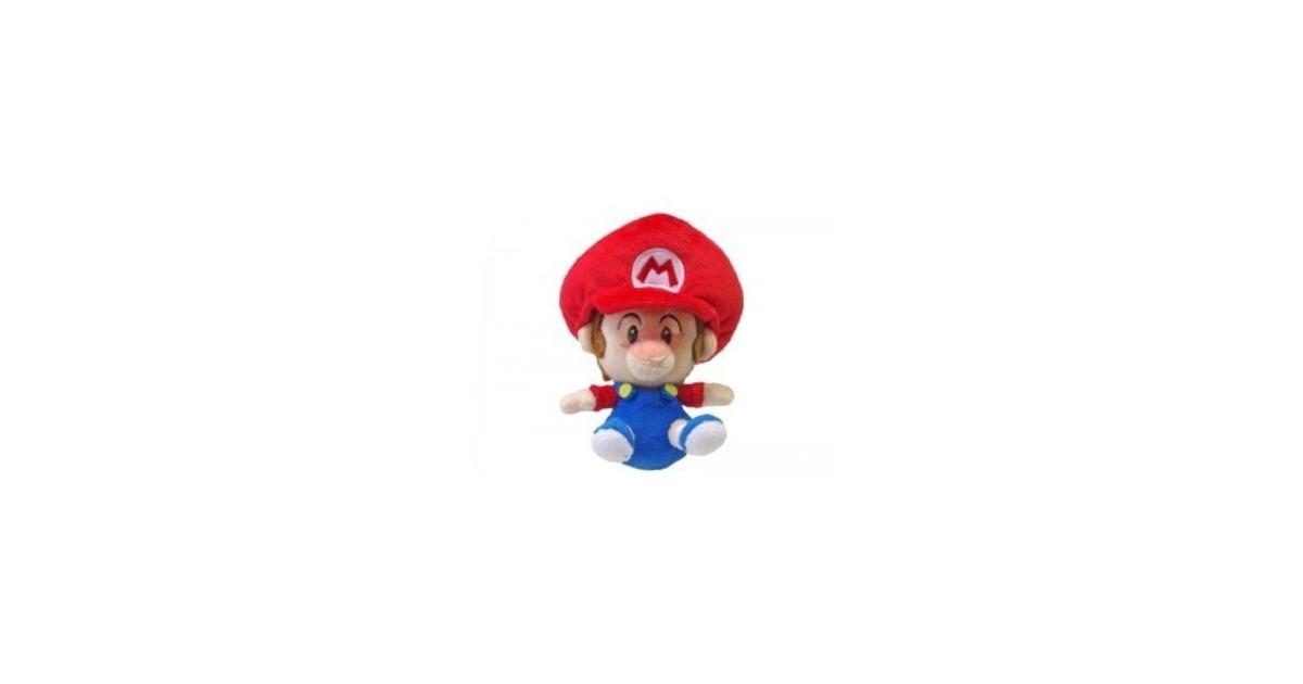 Super Mario Plushfiguur Baby Mario 13cm