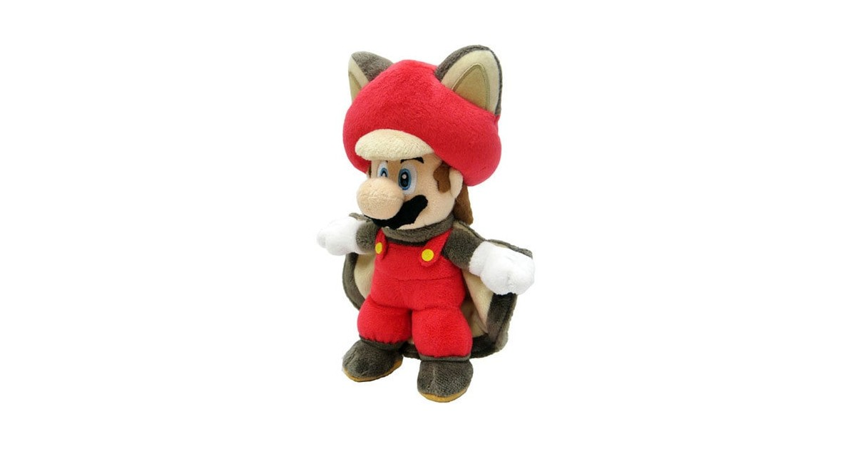 Plush Mario flying squirrel 36cm
