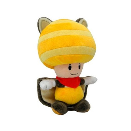 PlushToad flying squirrel Yellow 20cm