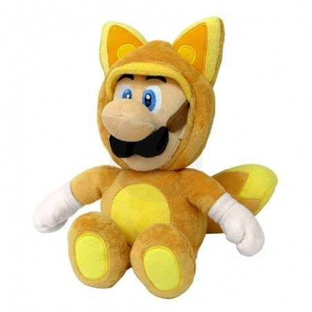 Supermario Plush Fox Luigi 33 cm