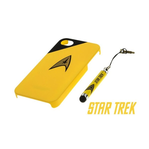Star Trek iPhone 4s Case / Stylus Yellow
