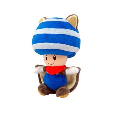 PlushToad flying squirrel Blue 20cm