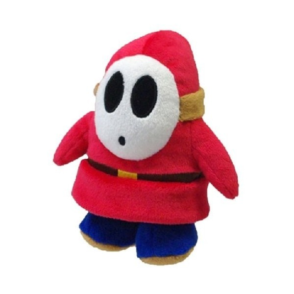 Super Mario Plush figure Shy Guy 14cm
