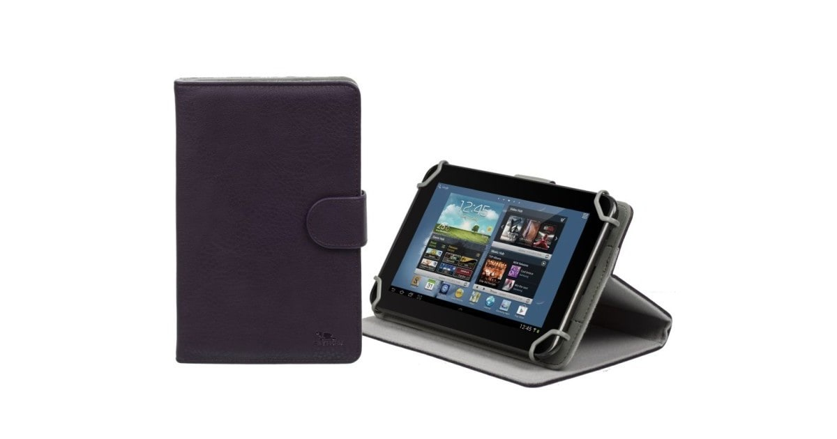 "RivaCase 3012 violet tablet case 7"" voor oa Samsung Galaxy Tab 4 7.0/ Acer Iconia Tab B1-710"