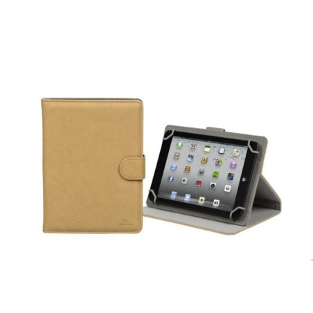 "RivaCase 3014 beige tablet case 8"" voor oa iPad mini 3, Samsung Galaxy tab4 8.0 , Active 8.0 SM-T365"