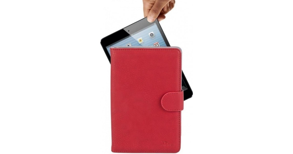 "RivaCase 3014 red tablet case 8"" voor oa iPad mini 3, Samsung Galaxy tab4 8.0 , Active 8.0 SM-T365/G"