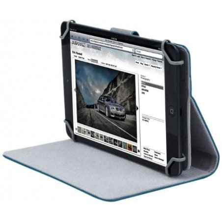 "RivaCase 3017 aquamarine tablet case 10.1"" voor oa Apple iPad Air 2 / Samsung Galaxy Tab4 10.1"
