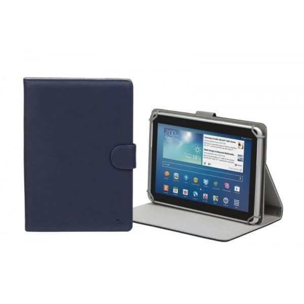 "RivaCase 3017 blue tablet case 10.1"" Apple iPad Air 2 / Samsung Galaxy Tab4 10.1"