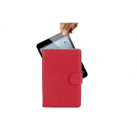 "RivaCase 3017 red tablet case 10.1"" voor oa Apple iPad Air 2 / Samsung Galaxy Tab4 10.1"