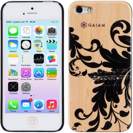 Gaiam iPhone 5 Case Wood Filigree