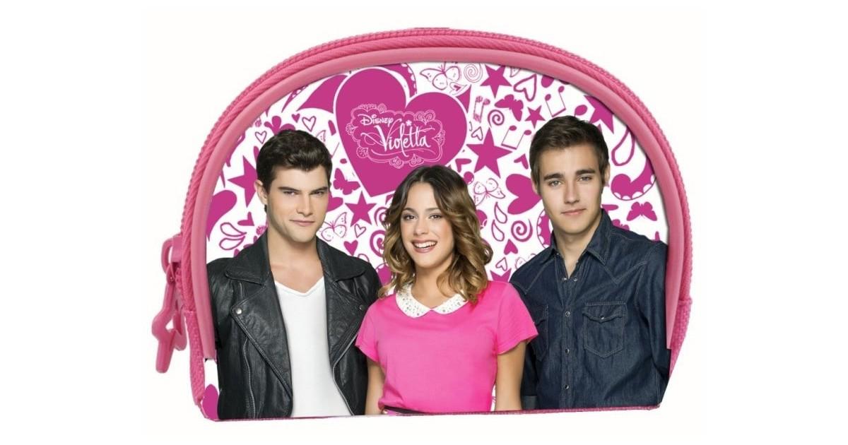 Violetta Pop love portemonnee half rond