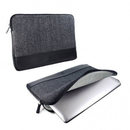 "Tuff-Luv Herringbone Tweed protective sleeve case cover 11"" Laptop / Tablets / Ultrabooks Devices"