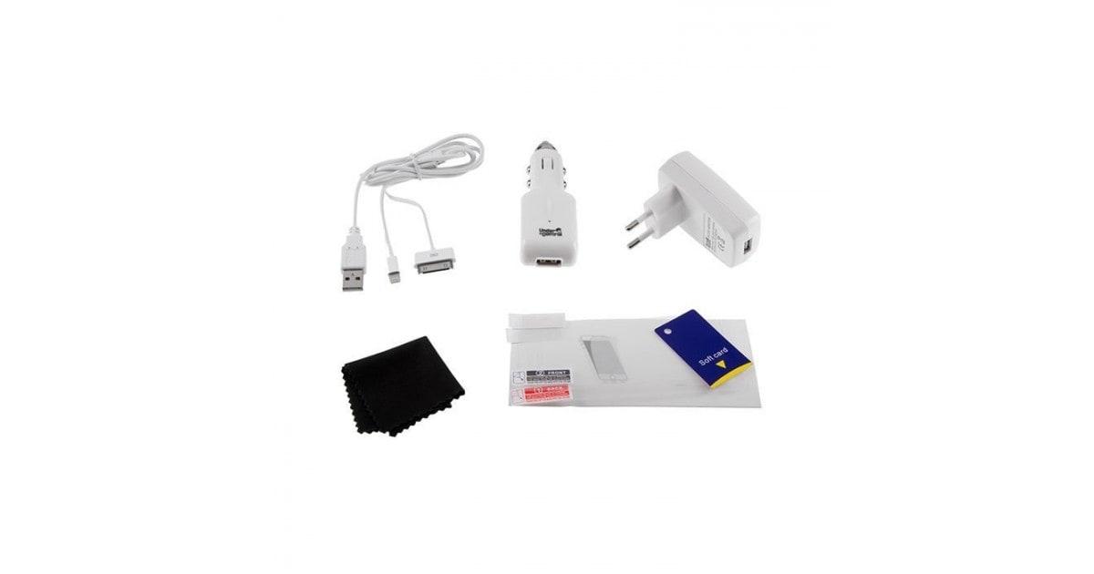 Under Control Accessoirekit voor iPhone 4/5 wit