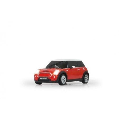 Jamara Mini Cooper S 1:18 rood