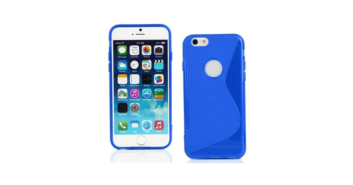 AA Iphone 6 S-Line (Blue) Gel Case