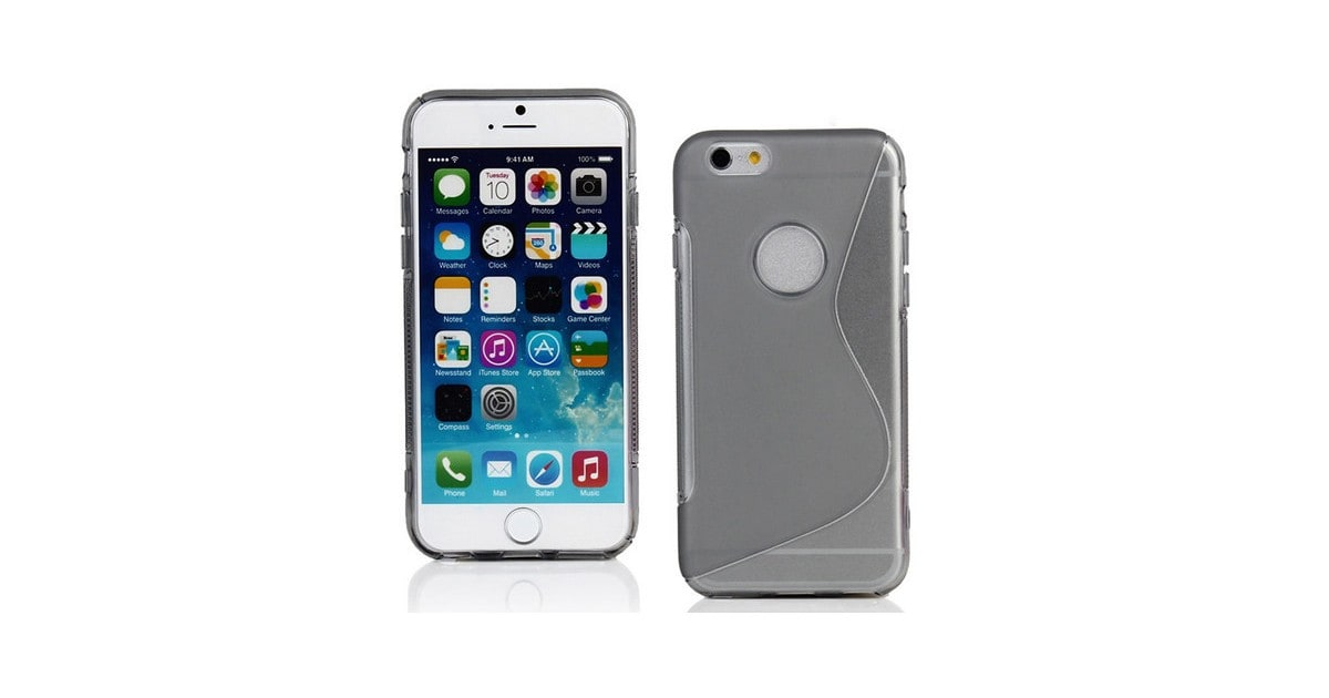 AA Iphone 6 S-Line (Grey) Gel Case